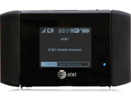 Netgear-AT&T Mobile Hotspot Elevate 4G AirCard 754S Black-Black