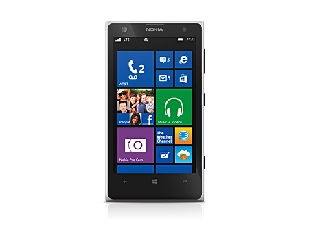 Nokia Lumia 1020 - Matte White (Certified Like-New)