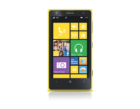 Nokia Lumia 1020 - Matte Yellow