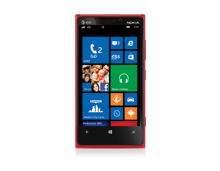 Nokia-Lumia 920-High Gloss Red