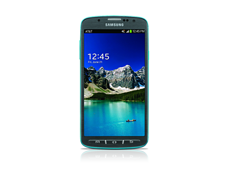 Samsung Galaxy S 4 Active  - Dive Blue (Certified Like-New)