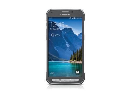 Samsung-Galaxy S 5 Active-Titanium Gray