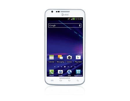 Samsung-Galaxy S II Skyrocket-White