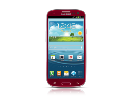 Samsung-Galaxy S III-Garnet Red