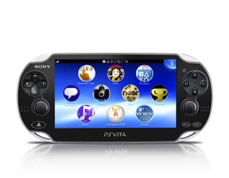 Sony-PlayStation Vita-Black