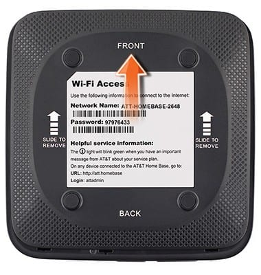 ZTE Home Base (Z700/Z700A) - Install the Back-up Battery - AT&T
