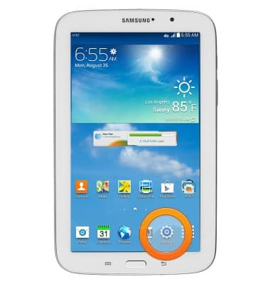 View device software version Tutorial for Samsung Galaxy Tab 3 7 0