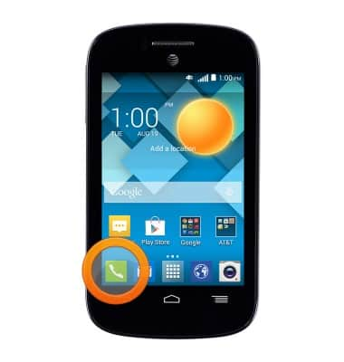 Change or reset voicemail password Tutorial for Alcatel C1 (4015T