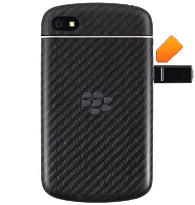 BlackBerry Q10 (SQN100-1) - Charge the battery - AT&T