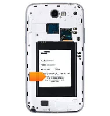 Samsung Galaxy Note II (I317) - Find IMEI & serial number - AT&T