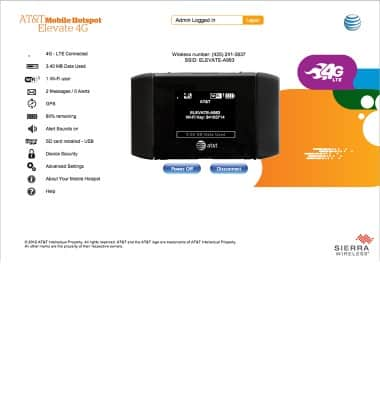 Battery life Tutorial for AT&T Mobile Hotspot Elevate 4G - AT&T