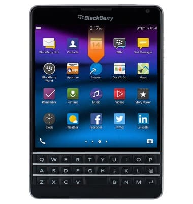 Blackberry passport sqw100 3 find imei pin serial number att device 29001493758g reheart Image collections
