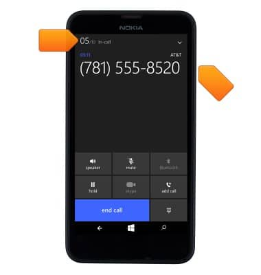 c0393d43aa3 Nokia Lumia 635 - In-call options - AT&T