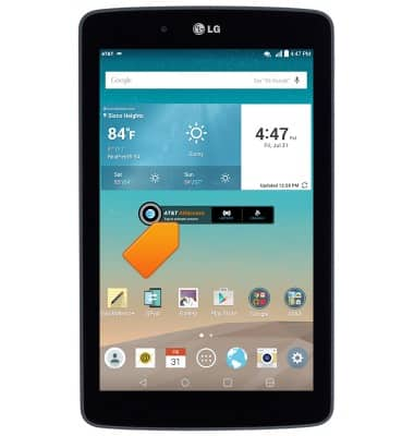 Activate device Tutorial for LG G Pad 7 0 LTE (V410) - AT&T