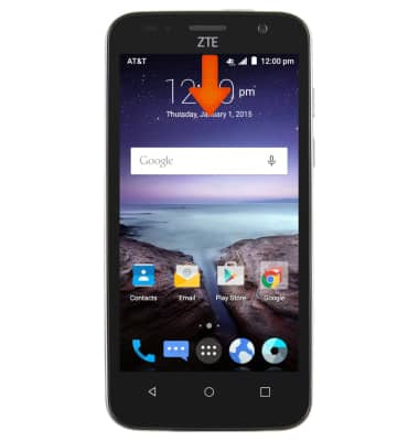 Learn And Customize The Home Screen Tutorial For Zte Maven Z812