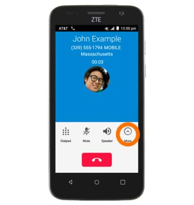Conference Calling Tutorial for ZTE Maven (Z812) - AT&T
