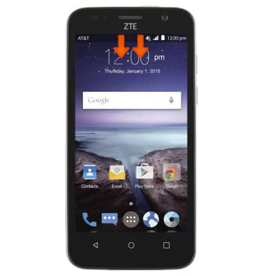 Reset Device Tutorial for ZTE Maven (Z812) - AT&T