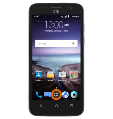 Access Voicemail Tutorial for ZTE Maven (Z812) - AT&T