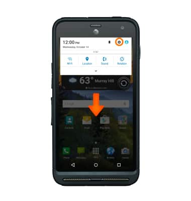 Kyocera DuraForce XD (E6790) - Reset device - AT&T