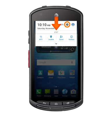 Find IMEI & serial number Tutorial for Kyocera DuraForce (E6560) - AT&T