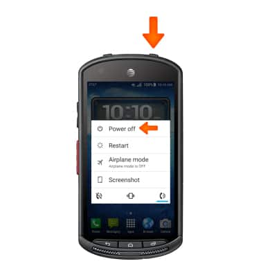 Reset device Tutorial for Kyocera DuraForce (E6560) - AT&T