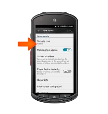 Kyocera DuraForce (E6560) - Anti-theft - AT&T