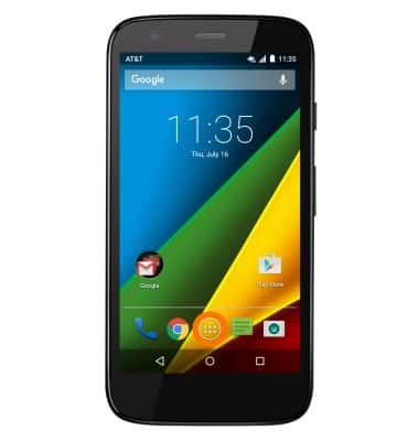 Motorola Moto G Xt1045 Learn And Customize The Home Screen Att