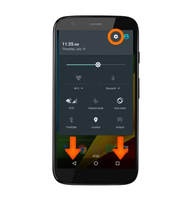 View & manage data Tutorial for Motorola Moto g (XT1045) - AT&T