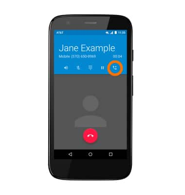 how to put conference call in moto g3