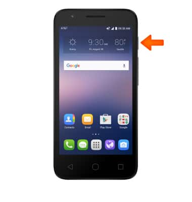 Alcatel IDEAL (4060A) - Power Device On or Off - AT&T