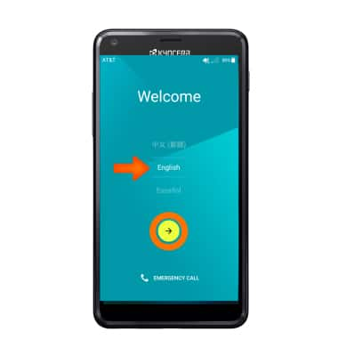 Device setup Tutorial for Kyocera Hydro SHORE (C6742A) - AT&T