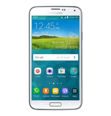Samsung Galaxy S5 (G900A) - Download Apps & Games - AT&T