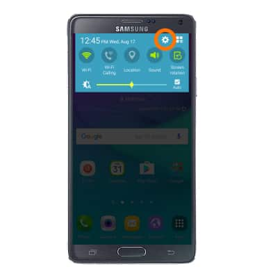 Find IMEI & serial number Tutorial for Samsung Galaxy Note 4 (N910A