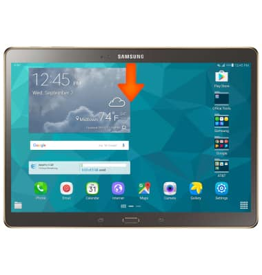 Find My Mobile Tutorial for Samsung Galaxy Tab S 10 5 (T807A) - AT&T