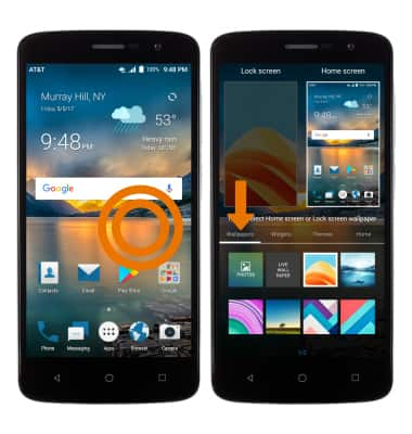 ZTE Blade Spark (Z971) - Learn & Customize the Home Screen