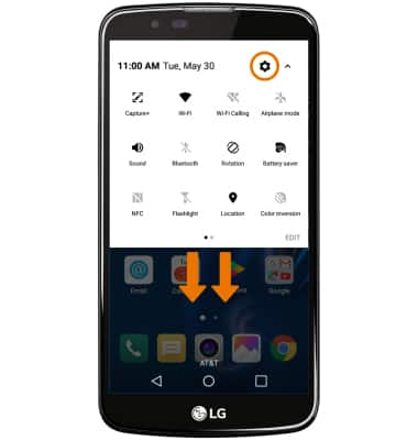 LG K10 (K425) - Find IMEI, Serial Number & Phone Number - AT&T