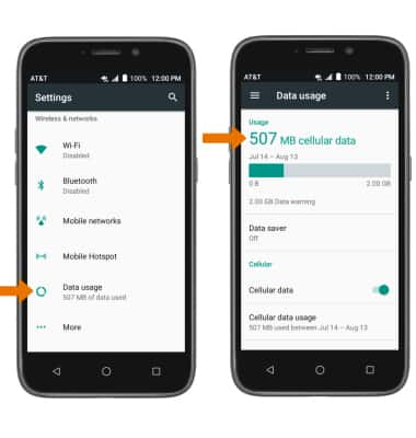 ZTE Maven 3 (Z835) - View & Manage Data - AT&T