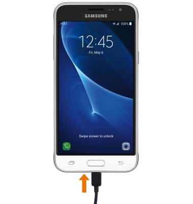 Samsung Galaxy J3 (2016) (J320A) - Charge the Battery - AT&T