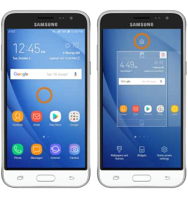 Samsung Galaxy J3 2016 J320a Learn Customize The Home Screen At T