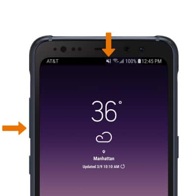 Samsung Galaxy S8 Active (G892A) - Sounds & Alerts - AT&T