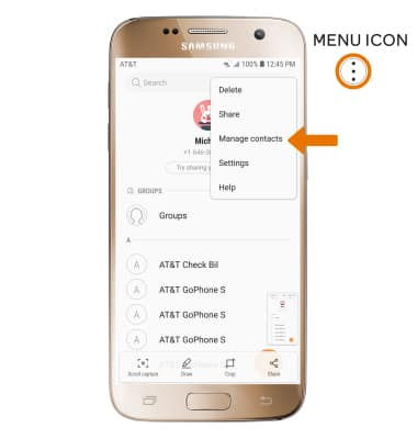Samsung Galaxy S7 (G930A) - Backup & Restore with Memory