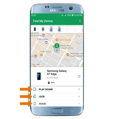 Samsung Galaxy S7 edge (G935A) - Find My Mobile - AT&T