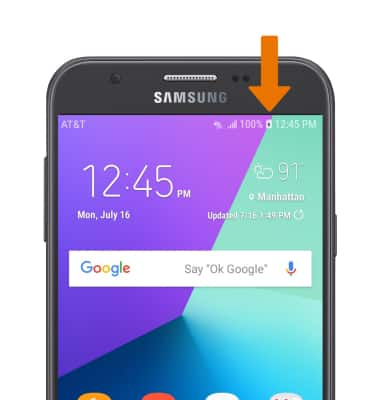 Samsung Galaxy J7 (J727A) - Charge the Battery - AT&T