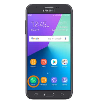 Samsung Galaxy J7 (J727A) - Call Forwarding - AT&T