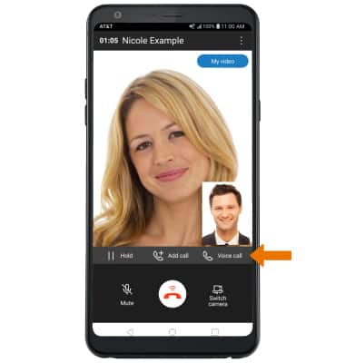LG Stylo 4+ (LM-Q710WA) - Make & Receive an AT&T Video Call - AT&T