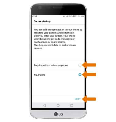 LG G5 (H820) - Secure My Device - AT&T