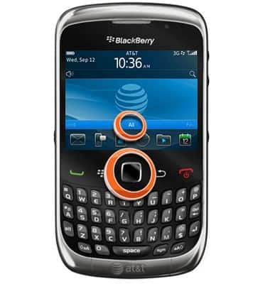 set date and time tutorial for blackberry curve 3g 9300 v6 0 at t rh att com AT&T Torch AT&T BlackBerry 10