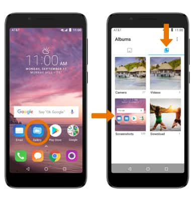 Alcatel idealXtra (5059R) - Take a Screenshot - AT&T
