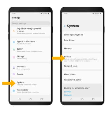Device System feature selection