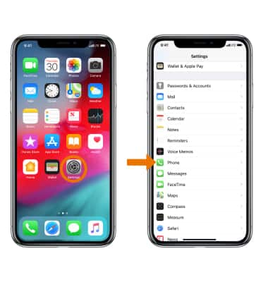 Apple iPhone X - Call Forwarding - AT&T